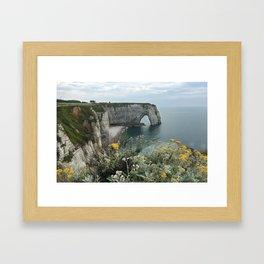 Etretat, France - Coast Framed Art Print