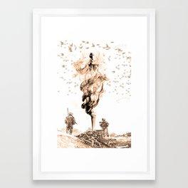 Aftermath Framed Art Print