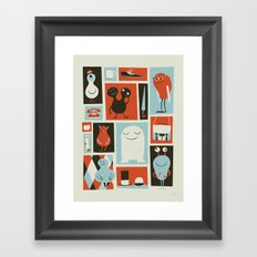 All Set Framed Art Print