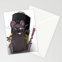 Zap Rat Stationery Cards