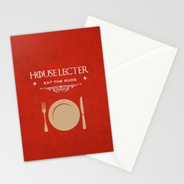 House Lecter Stationery Cards