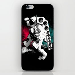 Basstronaut iPhone Skin