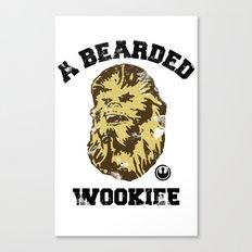 A Bearded Wookiee Canvas Print
