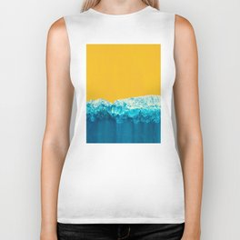 Yellow Tide Biker Tank