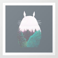 Troll of the Dreamland Forest Art Print