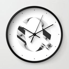 """Tao """"Letter Q"""" Wall Clock"""