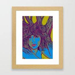 Sleeping Forest10 Framed Art Print