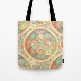 Complex geometric pattern Tote Bag
