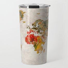 World Map 37 Travel Mug