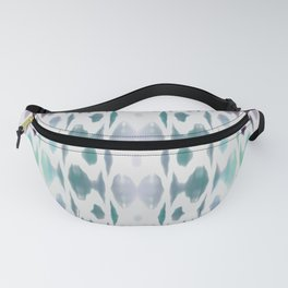 Light As Air Teal Purple Pattern Fanny Pack