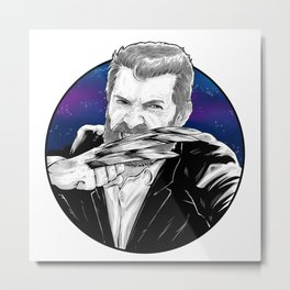 Old man Logan no.02(Hugh jackman) Metal Print