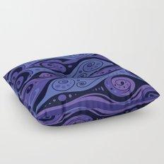 Surreal Waves Floor Pillow