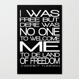 Freedom Harriet Tubman Canvas Print