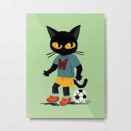 Football Metal Print