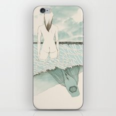 at sea iPhone & iPod Skin