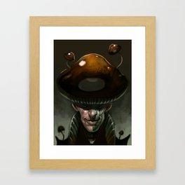 Mushroom Magician Framed Art Print