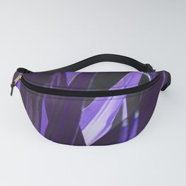 Puple Abstract Fanny Pack