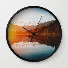 Lake Matheson Wall Clock