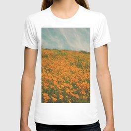 California Poppies 016 T-shirt