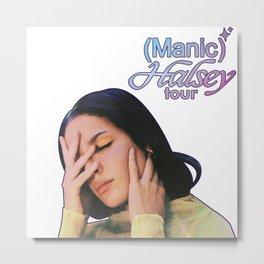 HALSEY - MANIC TOUR 2020 EUR Metal Print