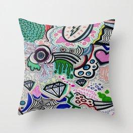 Crazy Design Throw Pillow