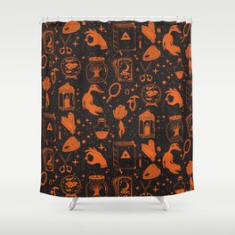 Far Into The Night Shower Curtain