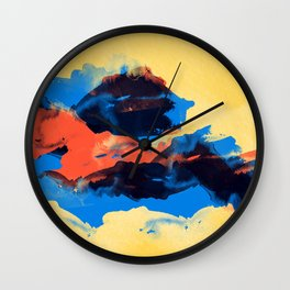 Tectonic Wall Clock