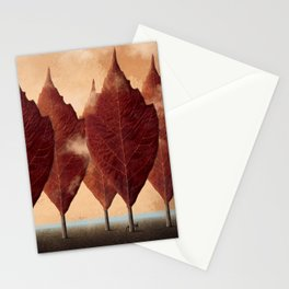 Lupo d'autunno Stationery Cards