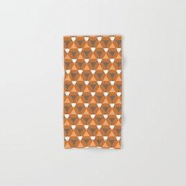 Reception retro geometric pattern Hand & Bath Towel