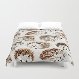 Hedgehogs Duvet Cover