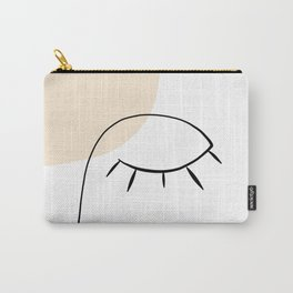 Line Art Beauty Power Nap Carry-All Pouch
