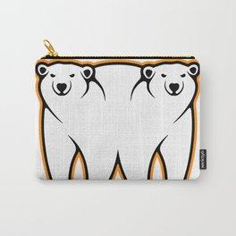 Bi-Polar Bears Carry-All Pouch
