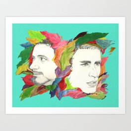 Something color Art Print