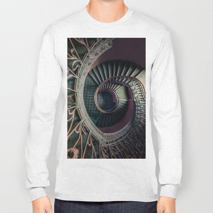 Art Deco spiral staircse Long Sleeve T-shirt