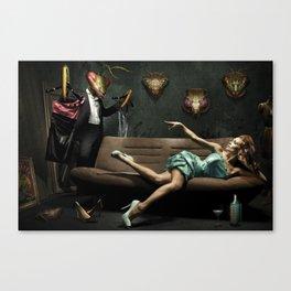 Fatal Woman Canvas Print