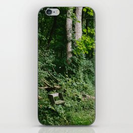 Relaxing in the Woods // Ohio iPhone Skin