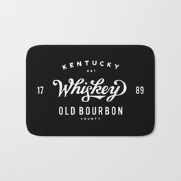 Old Bourbon Whiskey Bath Mat