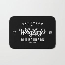 Old Bourbon Whiskey Bath Mat