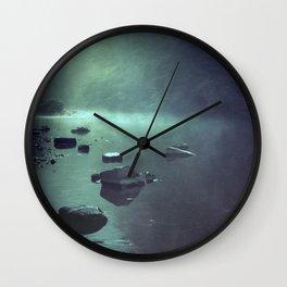 cold mirror Wall Clock