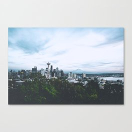 Seattle afternoon views Canvas Print