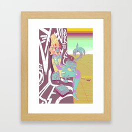 Xaxa Starwatcher Framed Art Print