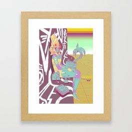 Xaxa Starwatcher Framed Art Print