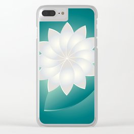 Pearl and Jade Clear iPhone Case