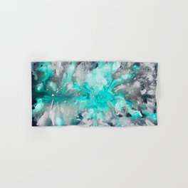 Ocean Turquoise Hand & Bath Towel
