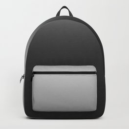 black-and-white  gradient Backpack