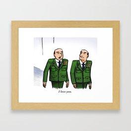 General Love Framed Art Print