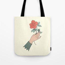 Rose gift Tote Bag