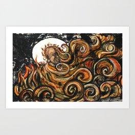 Thích Quảng Đức Art Print