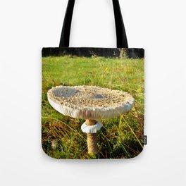 Large cap mushroom Tote Bag
