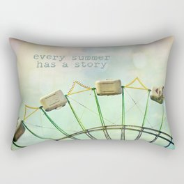every summer has a story Rectangular Pillow